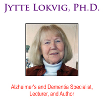 Jytte Lokvig, Alzheimer's and dementia expert.